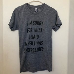Undercarbed T Shirt